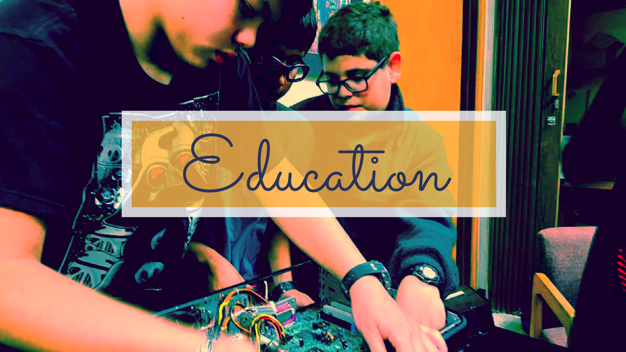 Education Training page